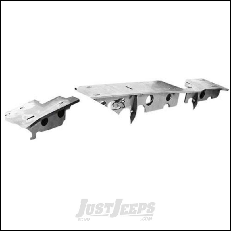 G2 Axle & Gear Weld On Axle Top Truss For Dana 30 Front Differentials For 2007-18 Jeep Wrangler JK 2 Door & Unlimited 4 Door Models 68-2050-1