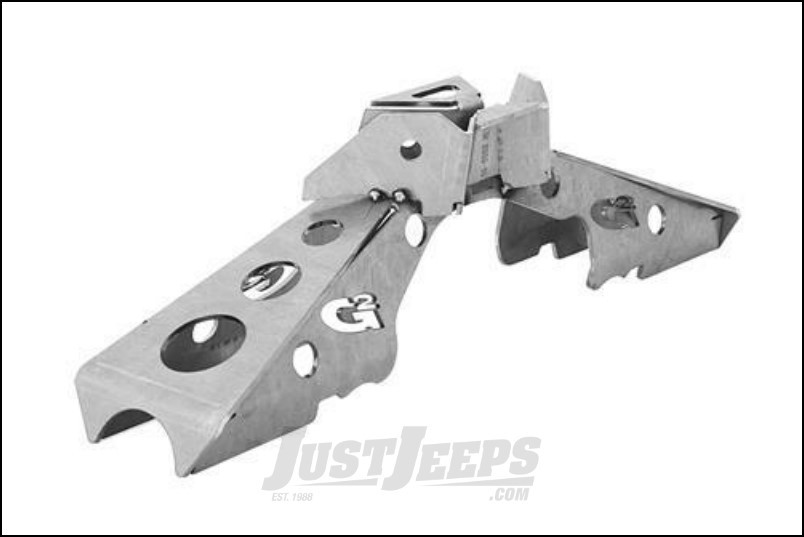 G2 Axle & Gear Weld On Rear Axle Truss For 2007-18 Jeep Wrangler JK 2 Door & Unlimited 4 Door Models With Dana 44 Axle Assembly 68-2052-1