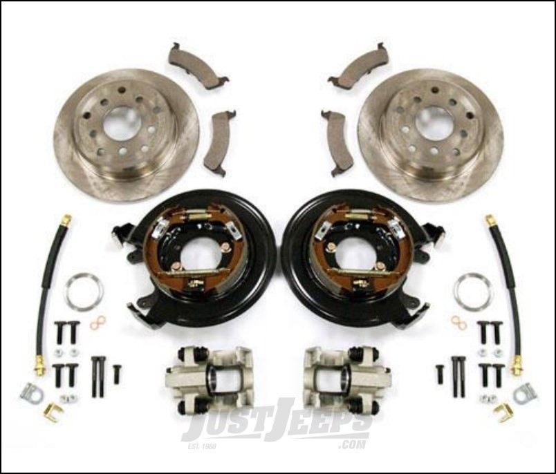 Just Jeeps G2 Axle Amp Gear Disc Brake Conversion Kit For