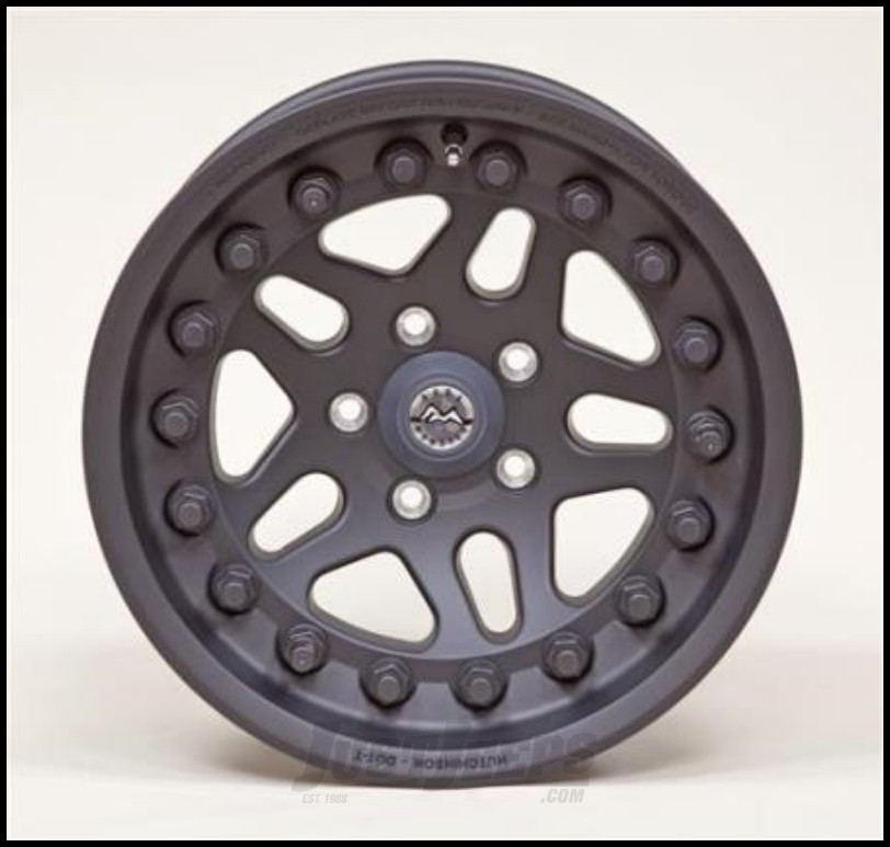 Hutchinson Beadlock Wheel  15 X 8 With 5 On 4.50 Bolt Pattern In Black