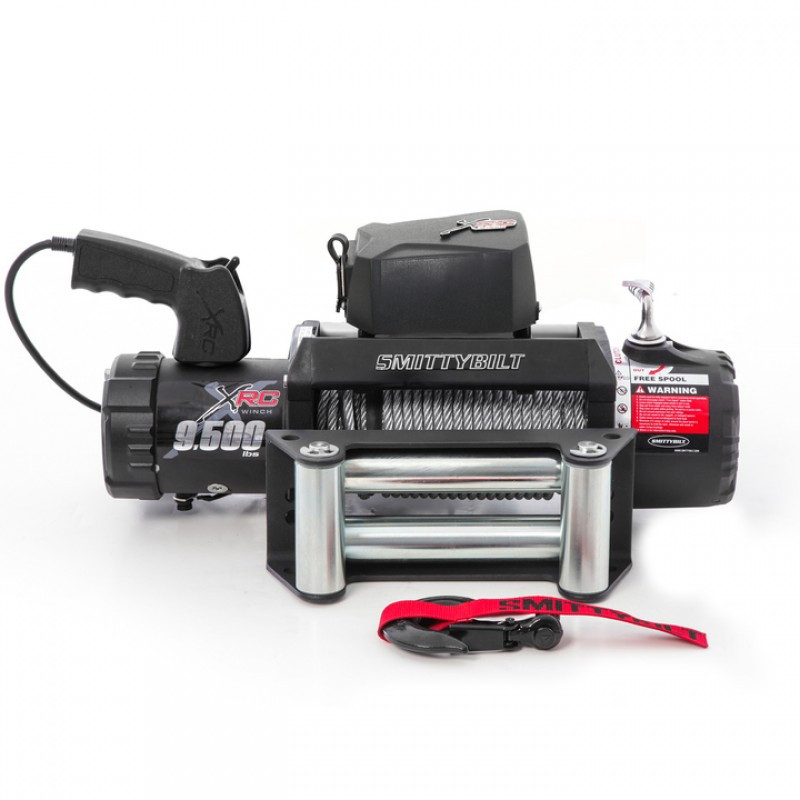 SmittyBilt XRC 9.5K Gen2 Competition Series Waterproof Winch Rated For 9,500lbs. 97495