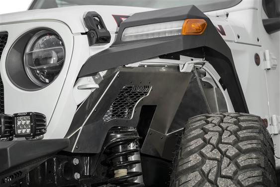 Addictive Desert Designs Front Inner Fenders For 2018+ Jeep Wrangler JL 2 Door & 4 Door Unlimited ACNA143101NA