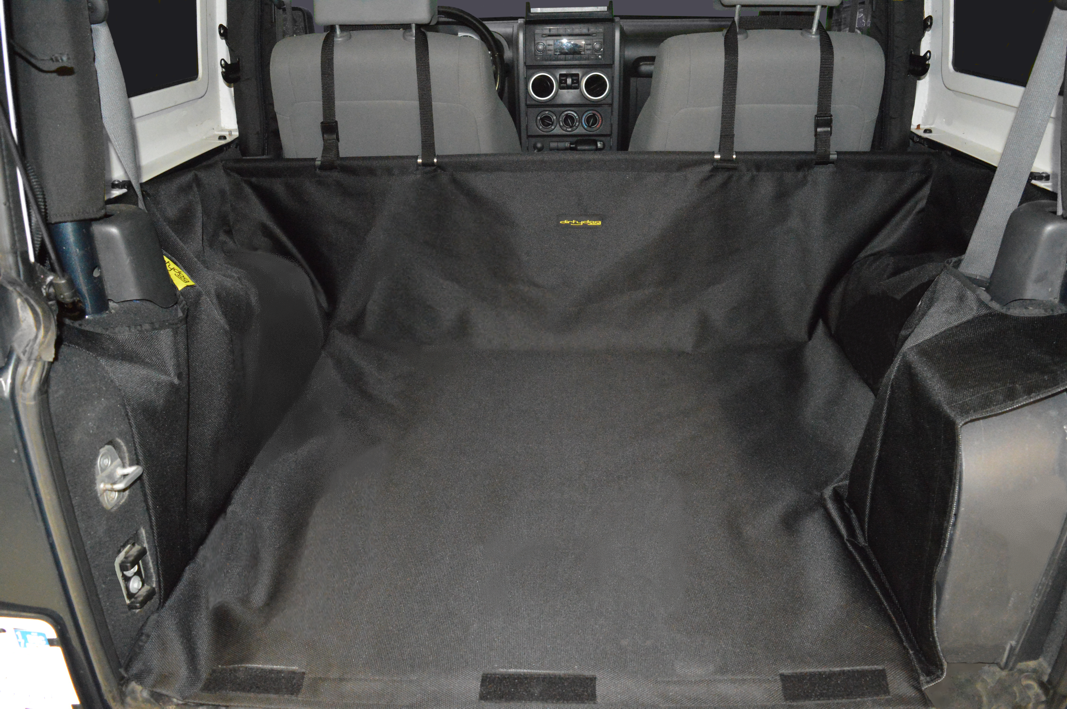 Just Jeeps Dirtydog 4x4 Cargo Liner With Side Subwoofer