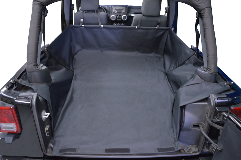Just Jeeps Dirtydog 4x4 Cargo Liner Without Side Subwoofer