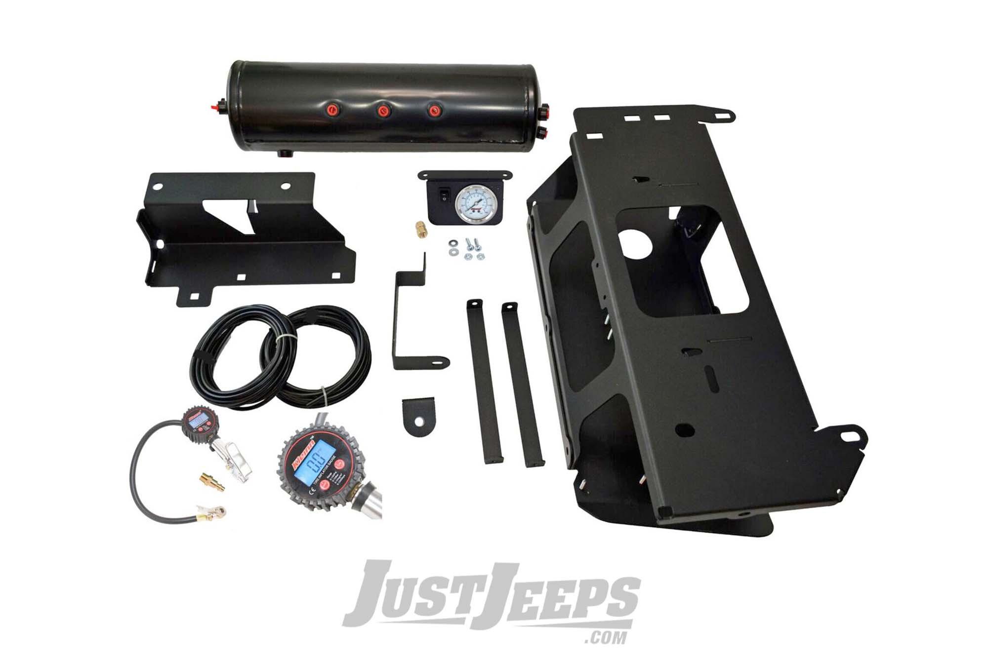 Kleinn Air Horns OnBoard Air System With Air Compressor & Tire Inflation Kit For 2018+ Jeep Wrangler JL Unlimited 4 Door Models JL-JK-OBA