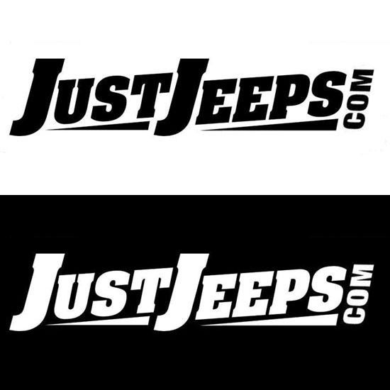 Just Jeeps Sticker