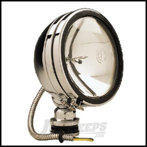 "KC HiLiTES 6"" Daylighter 100 Watt Spot Single Pack In Stainless Steel"