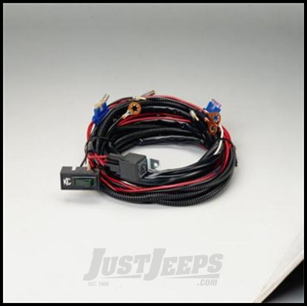 just jeeps kc hilites extended roof mount relay wiring