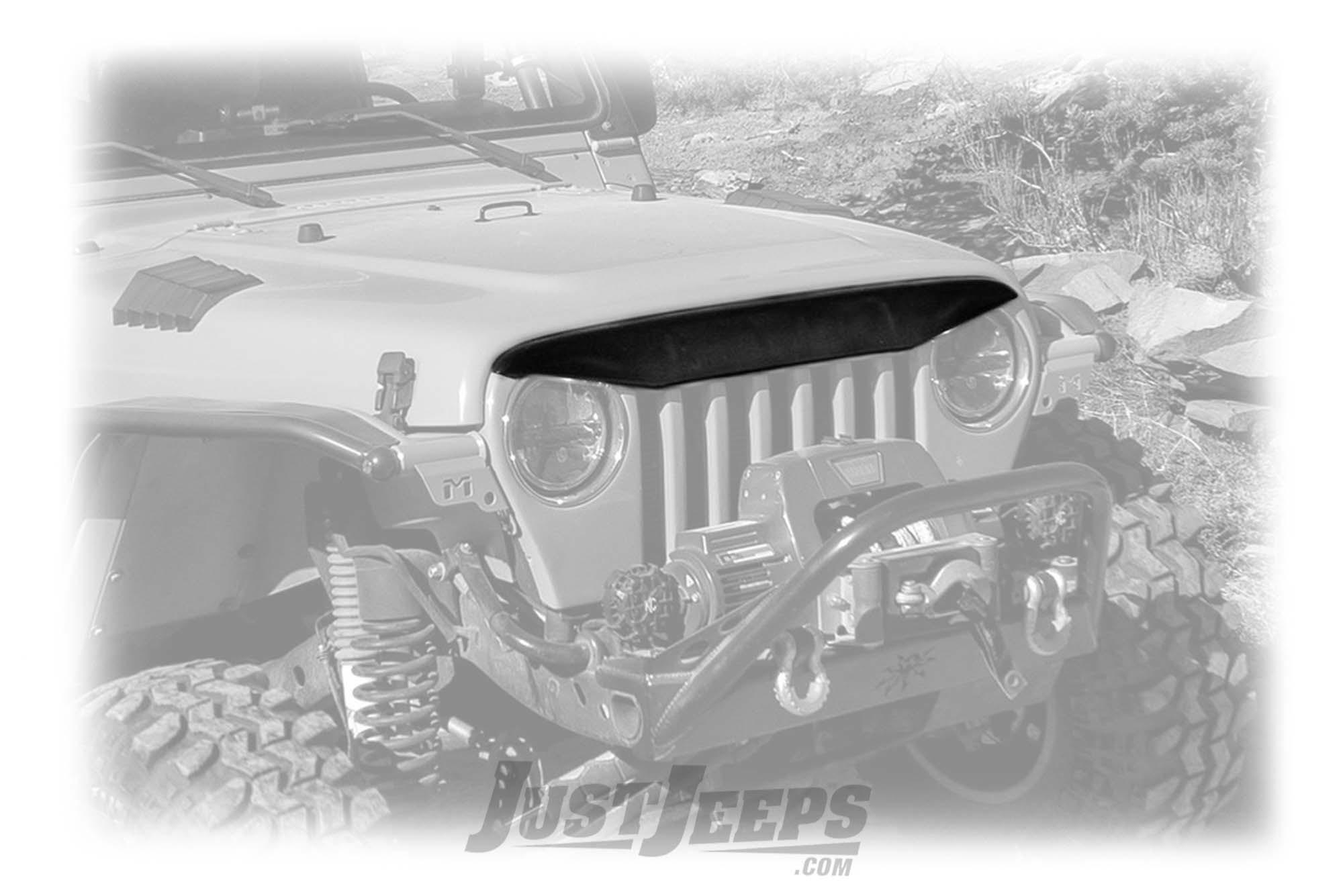 Daystar Angry Eyebrow For 1997-06 Jeep Wrangler TJ & TLJ Unlimited Models KJ73000BK