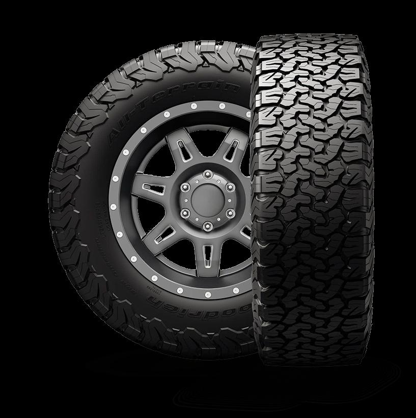 BF Goodrich All-Terrain T/A KO2 Tire 255/75R17 Load-C