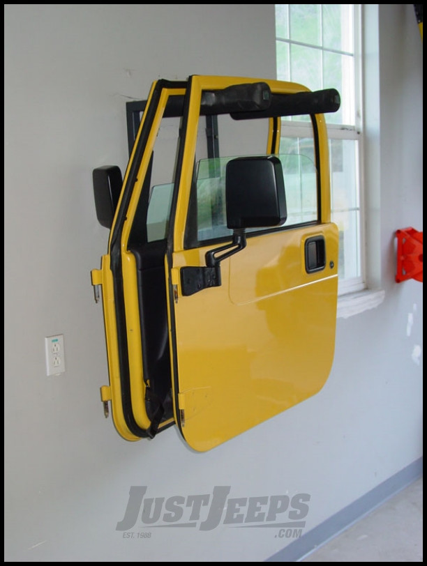 Lange Originals Wall Mounted Doors Hangers For 1976+ Various Jeep Models (See Details) 008-199