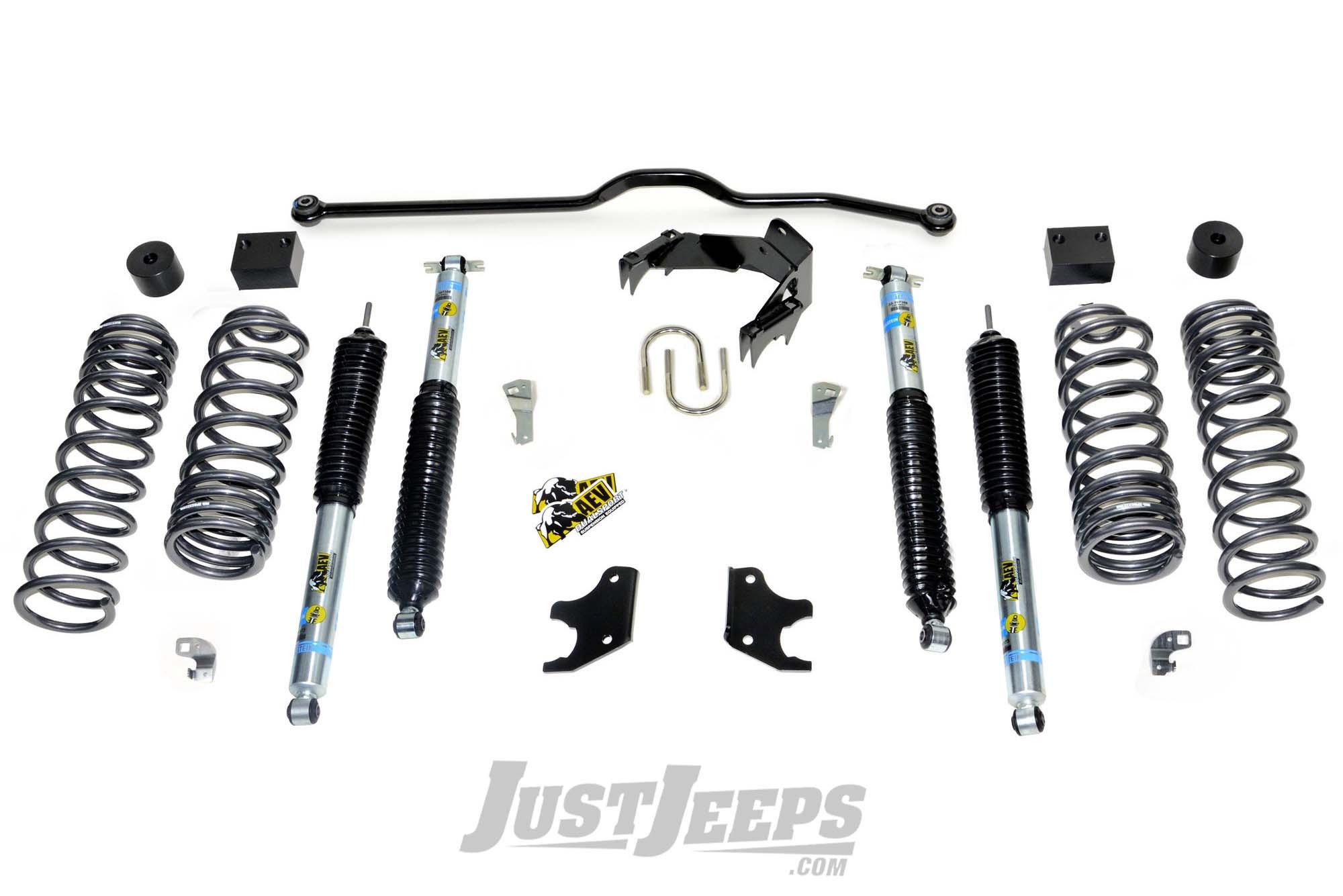 "AEV 2.5"" DualSport XT Suspension System With Bilstein Shocks For 2007-18 Jeep Wrangler JK 2 Door Models"