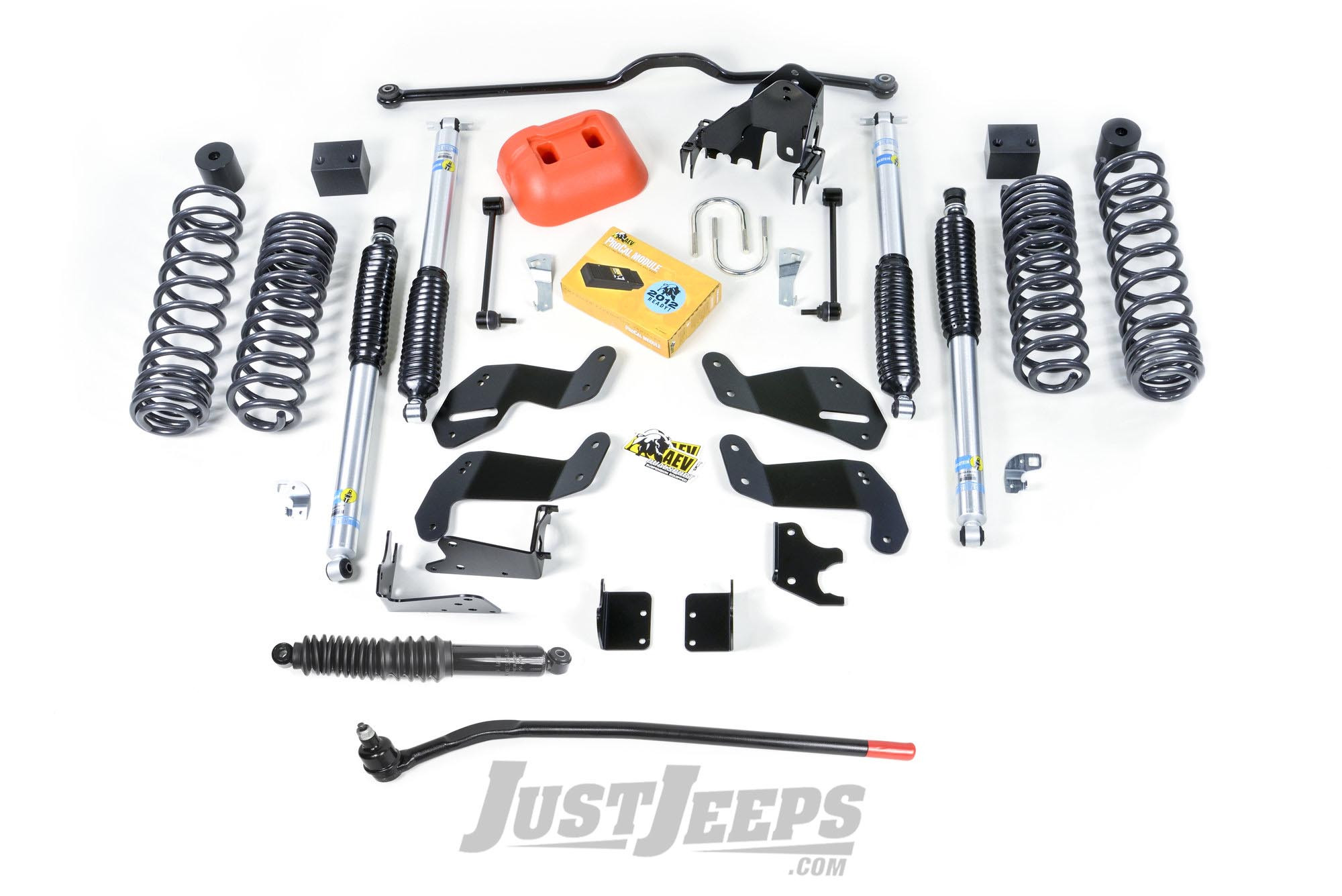 "AEV 3.5"" DualSport SC Suspension System With Bilstein Shocks For 2007-18 Jeep Wrangler JK Unlimited 4 Door Models"