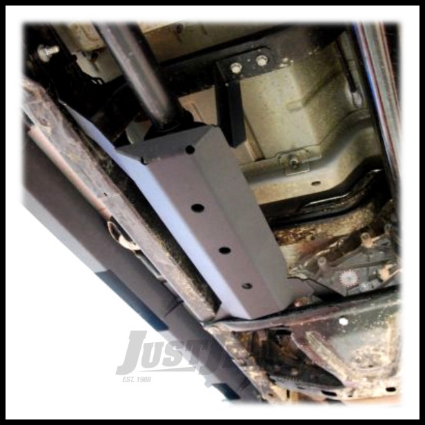 Off Camber Fabrications Muffler Skid Plate For 2007-18 Jeep Wrangler JK Unlimited 4 Door Models