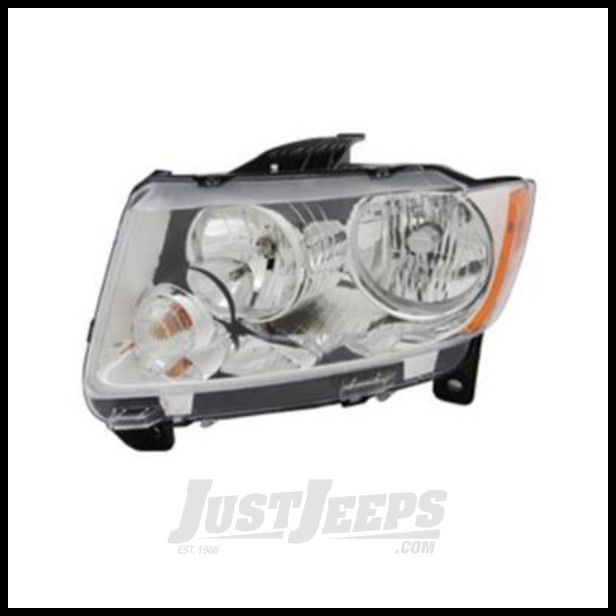 Omix-ADA Headlight Assembly Left (Driver) For 2011-12 Jeep Grand Cherokee 12402.27