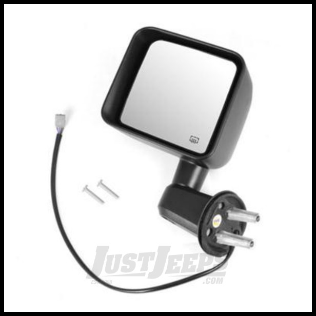 Omix-ADA Mirror Power Heated Left Side For 2011-13 Jeep Wrangler & Wrangler Unlimited JK 11002.25