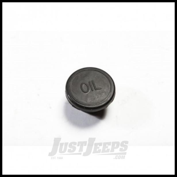 Just Jeeps Buy Omix Ada Oil Fill Plug For 1976 87 Cj