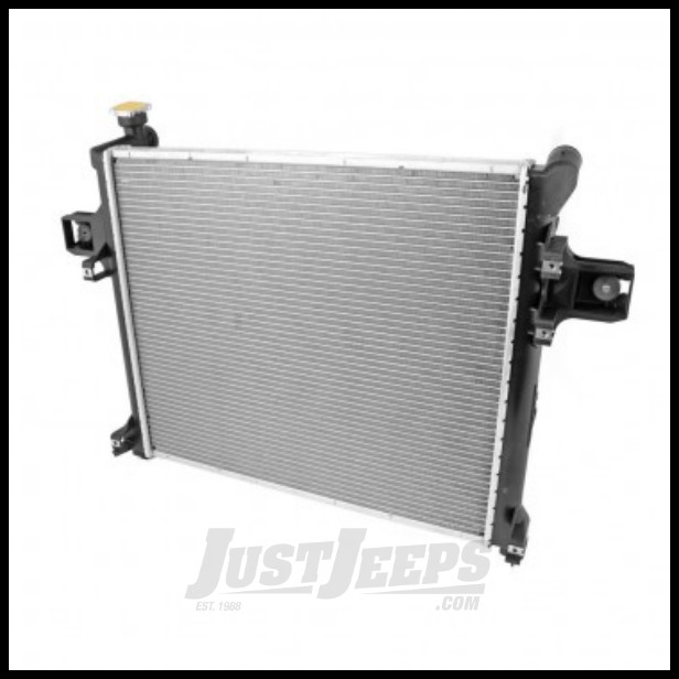Omix-ADA Radiator For 1997-06 Jeep Wrangler TJ Models With Automatic Transmission