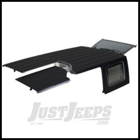 Just Jeeps Mopar Hardtop 3 Piece Freedom Top Black 2009 18
