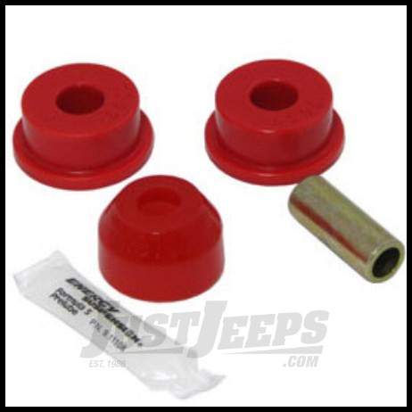 Energy Suspension Front Track Arm Bushing Set In Red 1984-2006 Jeep Wrangler TJ,Cherokee,Grand Cherokee