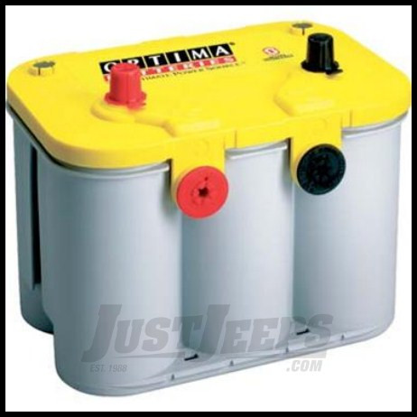 Just Jeeps Optima Yellow Top 12 Volt Deep Cycle Battery