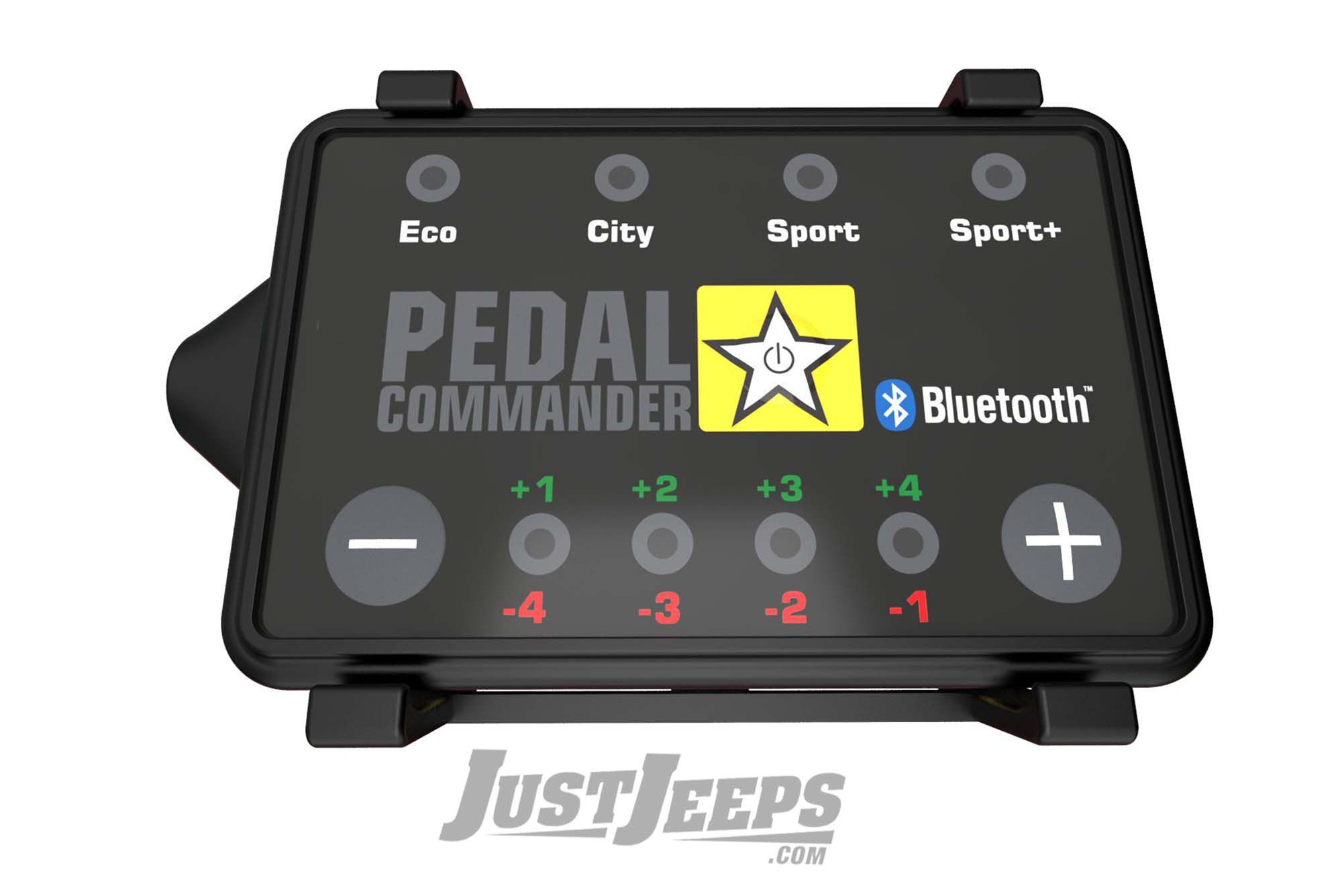 Pedal Commander Bluetooth Throttle Response Controller For 2007-18 Jeep Wrangler JK, 2007-18 Grand Cherokee, 2007-10 Commander, & 2008-12 Liberty Models PC31-BT