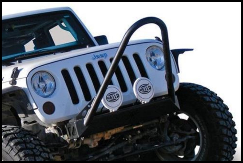 Just Jeeps Buy Poison Spyder Bfh Front Bumper With Comp