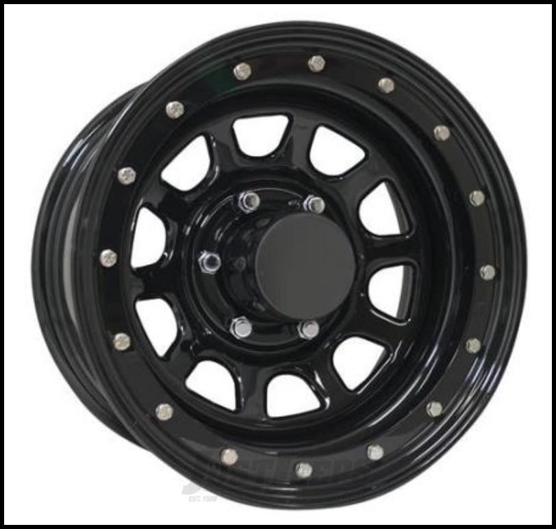 Pro Comp Series 252 Street Lock Wheel 16x8 With 5 On 5.00 Bolt Pattern & 4.25 Backspace In Gloss Black PCW252-6873