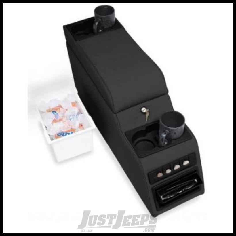 Just Jeeps Rampage Locking Center Console Denim Black For