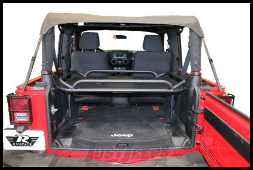 Just Jeeps Rampage Rear Interior Sport Rack For 2007 Jeep