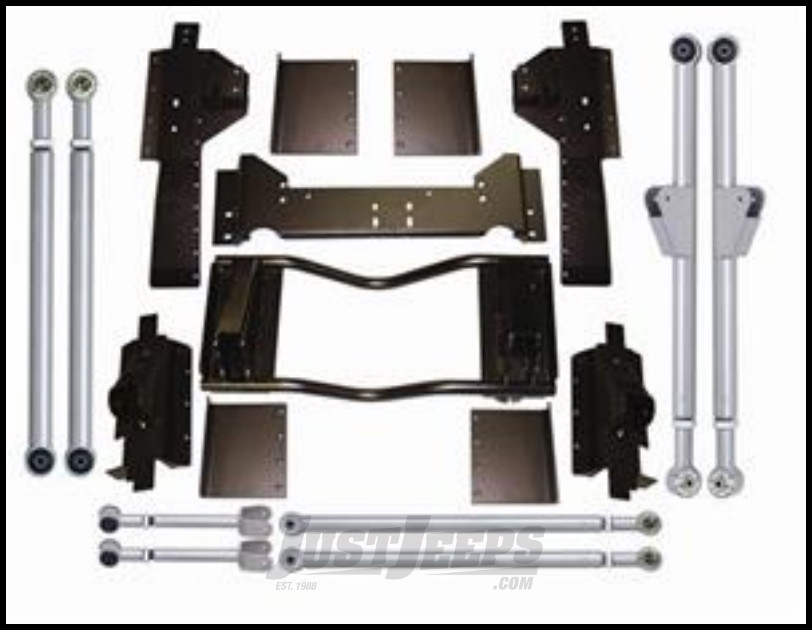 Rubicon Express Long Arm Upgrade Kit For 1993-98 Jeep Grand Cherokee ZJ RE8330