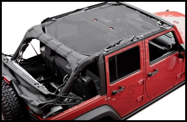 Rugged Ridge Full Eclipse Sun Shade For 2007+ Jeep Wrangler Unlimited JK 4 Door 13579.05