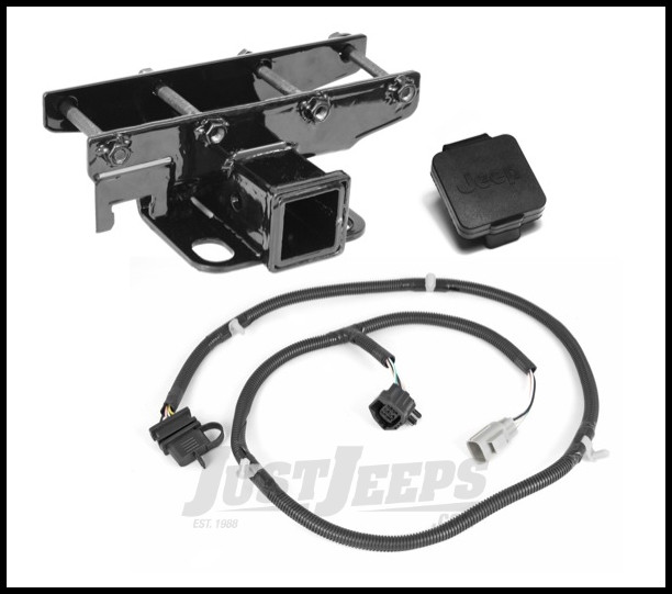 jeep jk door wiring plug just jeeps rugged ridge rear hitch 2  with    wiring    harness  just jeeps rugged ridge rear hitch 2  with    wiring    harness