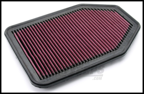 Rugged Ridge Synthetic Panel Air Filter For 2007-18 Jeep Wrangler JK 2 Door & Unlimited 4 Door Models With 3.8L & 3.6L Engine 17752.05