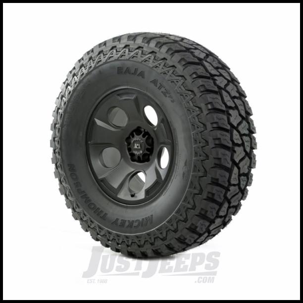 Rugged Ridge 17x9 Drakon Wheel In Satin Black With 37x12.50x17 Mickey Thompson ATX P3 All-TerrainTire For 2013-15 Jeep Wrangler & Wrangler Unlimited JK