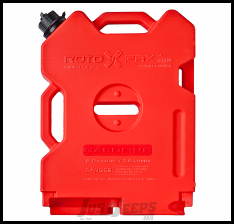 RotoPAX 2 Gallon Gasoline Pack In Red
