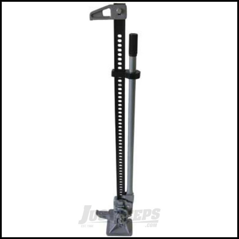 just jeeps smittybilt trail jack with handle isolator