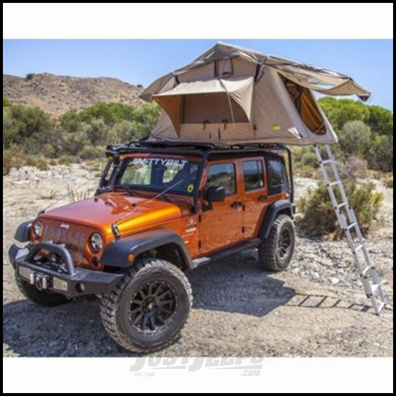 Just Jeeps Buy Smittybilt Overlander Roof Top Tent For