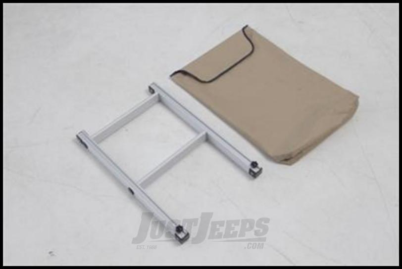 Just Jeeps Buy Smittybilt Overlander Roof Top Tent Ladder