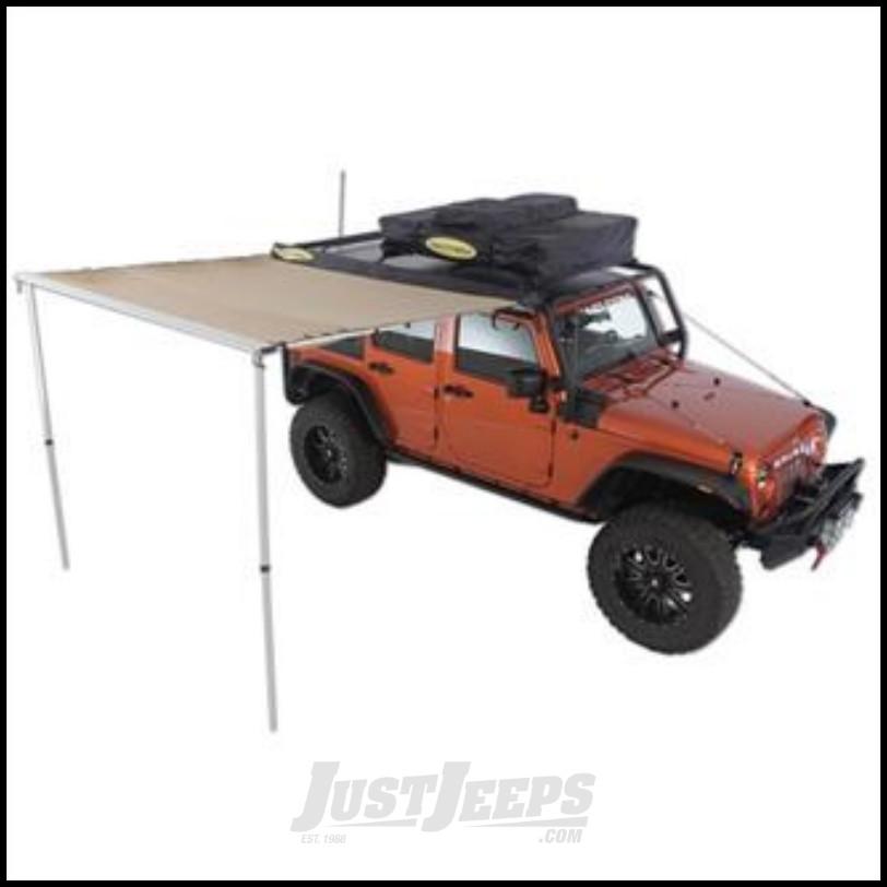 SmittyBilt Overlander Retractable Tent Awning 6.5' X 6.5' 2787