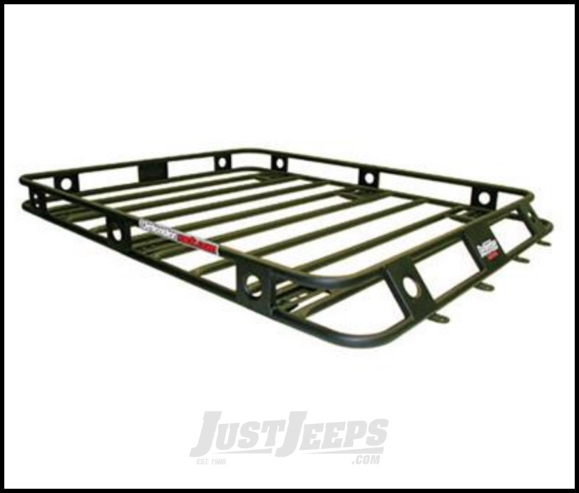 Just Jeeps Smittybilt Defender Series Roof Rack Basket 4 5