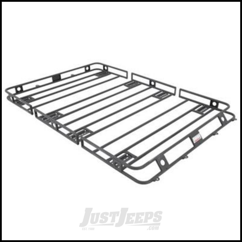 Just Jeeps Smittybilt Defender Series Roof Rack Basket 5 X 7 Multi
