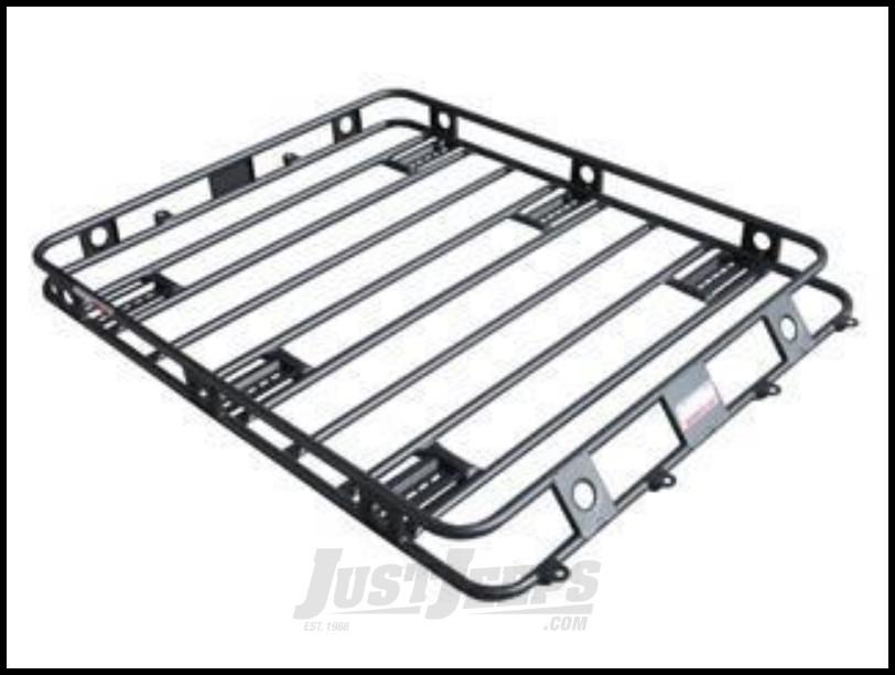 Just Jeeps Smittybilt Defender Series Roof Rack Basket 5 5