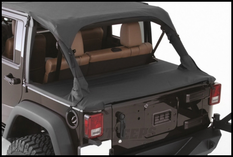 Just Jeeps Smittybilt Tonneau Cover In Black Diamond For