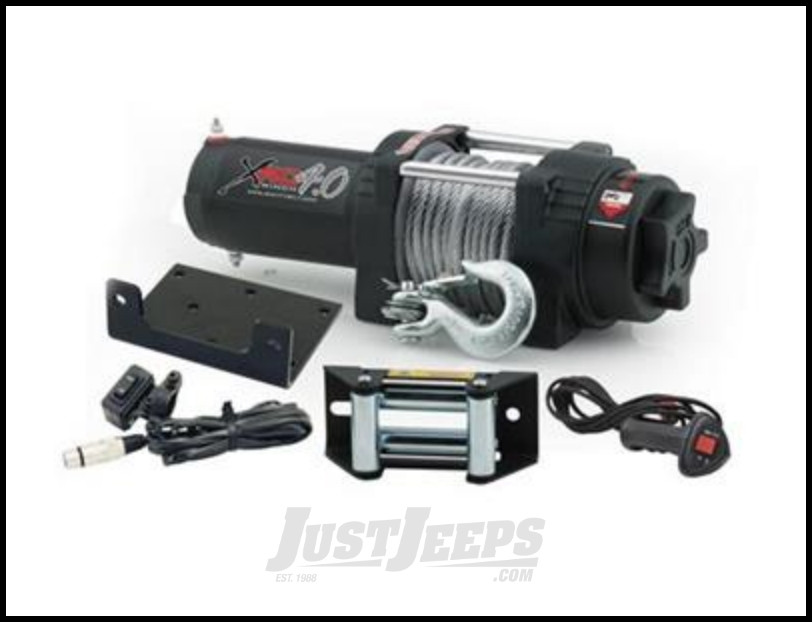 SmittyBilt XRC 4.0 Winch System Rated For 4000lbs.