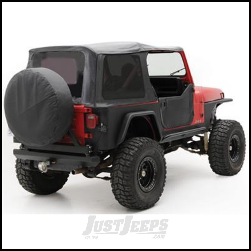 Just Jeeps Smittybilt Oe Style Replacement Top With Half