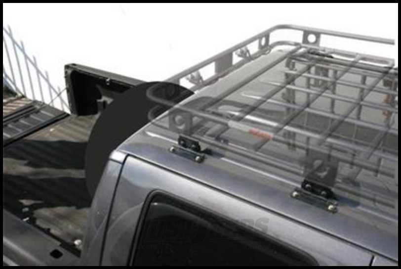 Just Jeeps Smittybilt Defender Series Roof Rack 8 Piece