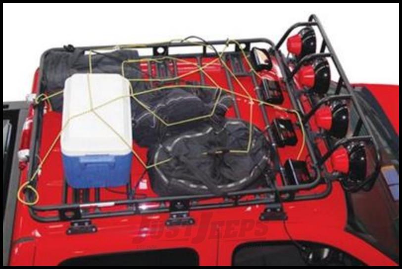 Just Jeeps Buy Smittybilt Defender Series Roof Rack Large