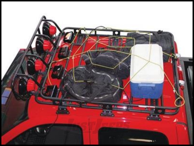 Just Jeeps Buy Smittybilt Defender Series Roof Rack Small