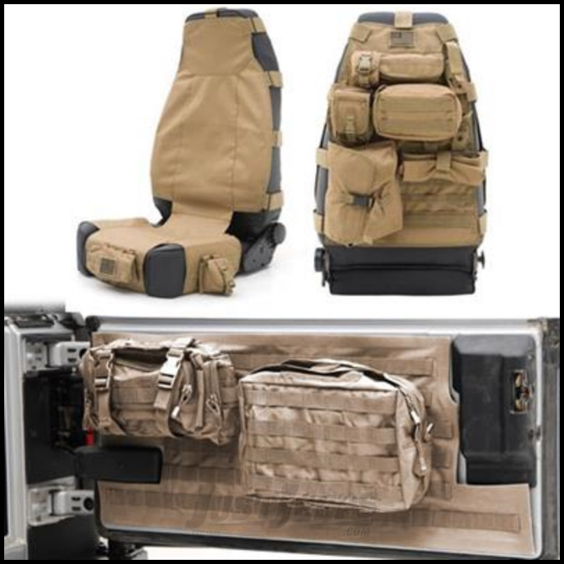Just Jeeps Buy Smittybilt Gear Front Seat Cover Amp Tailgate